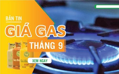 Giá gas tháng 9/2020