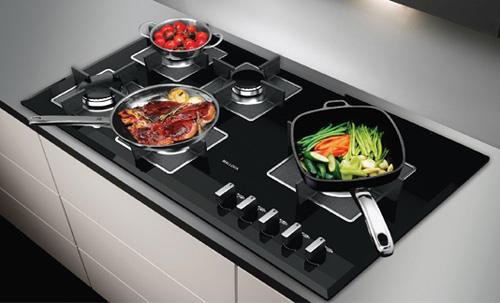 Image result for thiết kế bếp ga âm