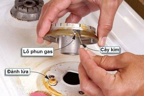 Những sự cố thường gặp trên bếp gas công nghiệp