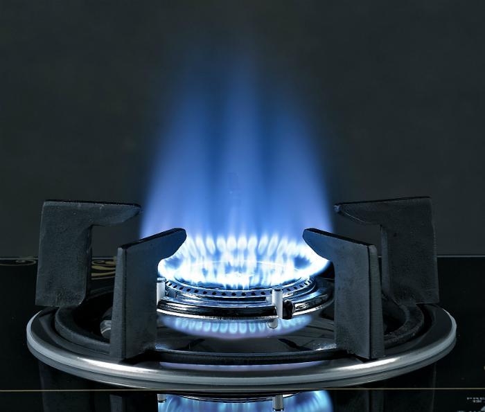 bếp gas đơn kính cho ngọn lửa xanh tiết kiệm gas khi đun nấu