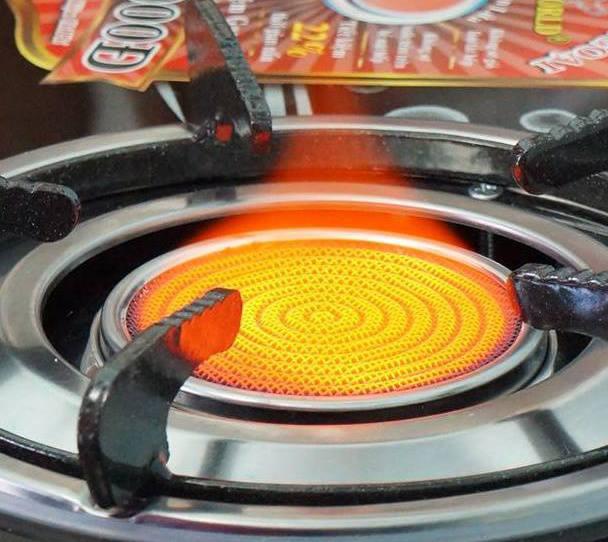 bếp gas hồng ngoại có khả năng tiết kiệm gas hiệu quả