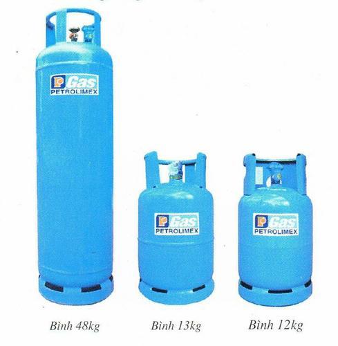 bình gas có tên thương hiệu Petrolimex