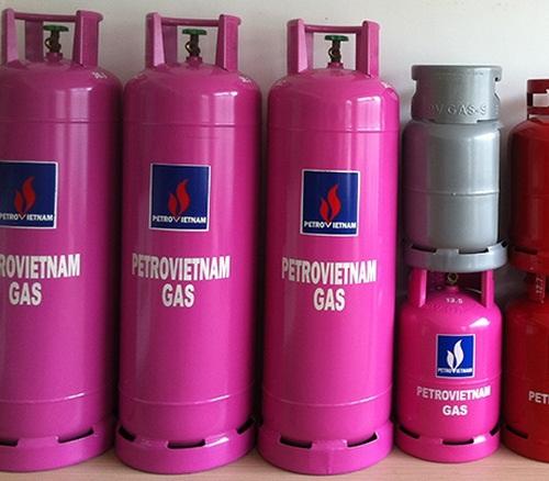 bình gas công nghiệp PetroVietnam gas 45kg