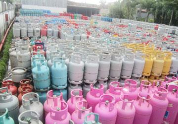 Bình Gas dỏm vấn tràn lan trên thị trường