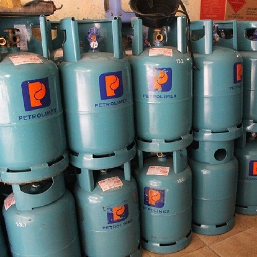 Bình gas không giá bao nhiêu?