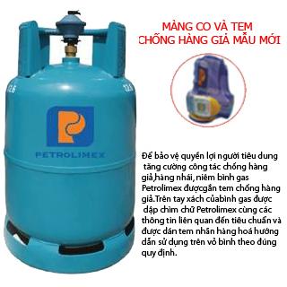 Gas Petrolimex sử dụng tem chống hàng giả