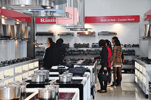 Thị trường bếp hiện rất đa dạng