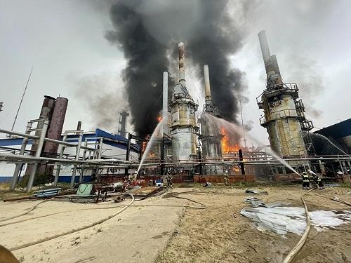 Cháy nhà máy Urengoy của Gazprom