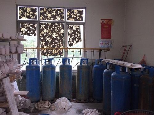 Cháy nổ khí gas