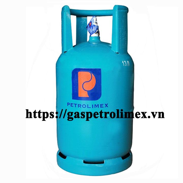 Bình gas Petrolimex 12kg van chụp