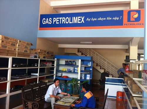 Cửa hàng gas Petrolimex cung cấp cho khu Keangnam