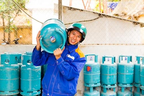 Cửa hàng gas Petrolimex số 39 cung cấp gas cho khu vực Phúc Diễn