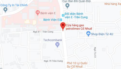 Cửa hàng gas Petrolimex Cổ Nhuế