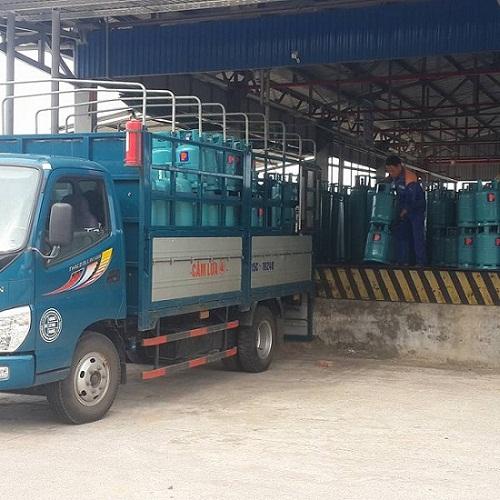 Cửa hàng gas Petrolimex khu đô thị Việt Hưng