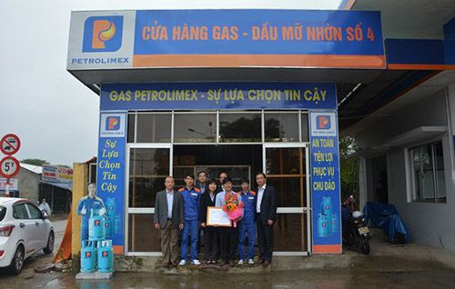 Cửa hàng gas Petrolimex số 19
