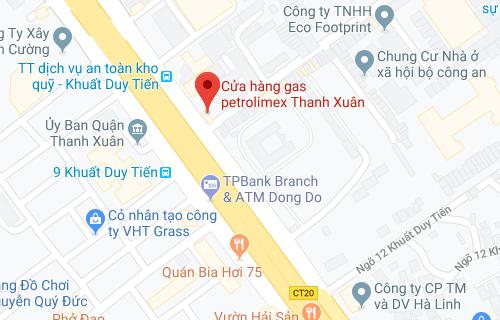 Cửa hàng gas Petrolimex Thanh Xuân