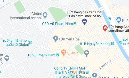 Cửa hàng gas Yên Hòa