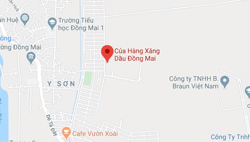 Giới thiệu cửa hàng xăng dầu Đồng Mai