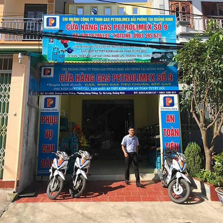Đại lý gas Petrolimex Quảng Ninh