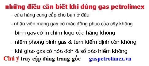 những điều cần biết khi dùng gas