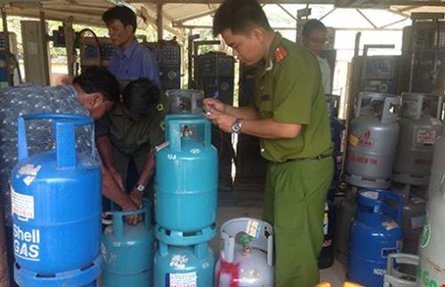 Tăng cường xử lý gas giả, gas lậu