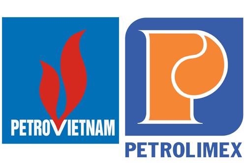 Logo của gas Petrovietnam và Petrolimex có sự khác biệt rõ nét