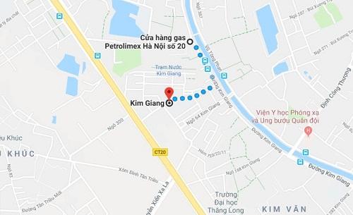 Gas Petrolimex Kim Giang