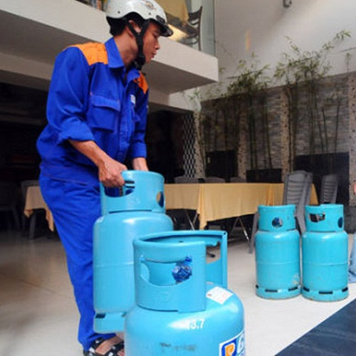 giá bình gas Petrolimex 12kg cả vỏ