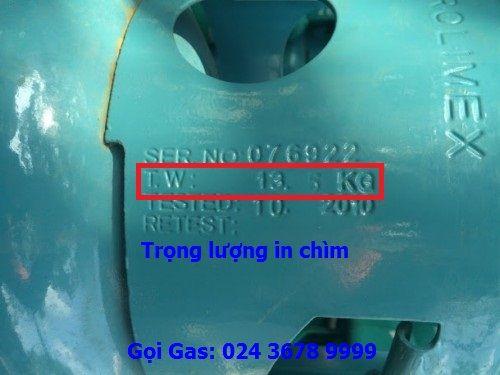 giá gas Petrolimex 13kg
