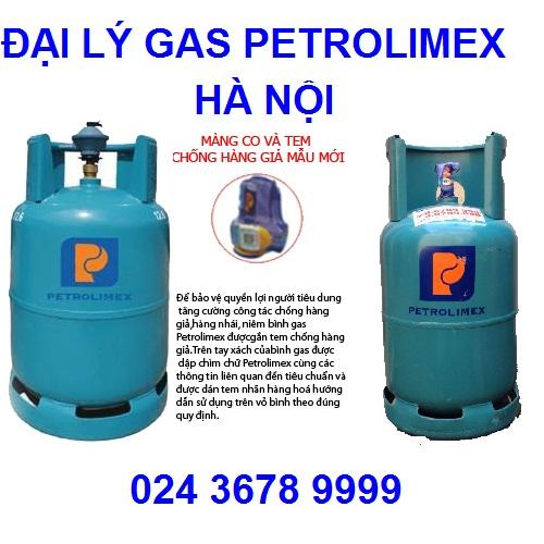 Giá gas Petrolimex Hà Nội