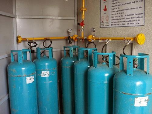 Giá vỏ bình gas công nghiệp