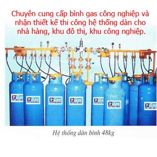 Dàn gas công nghiệp
