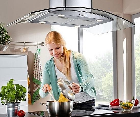 máy hút mùi nhà bếp