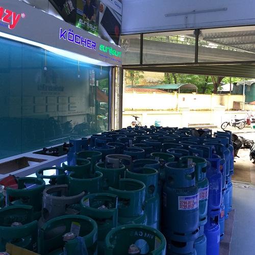 Mở cửa hàng bán gas