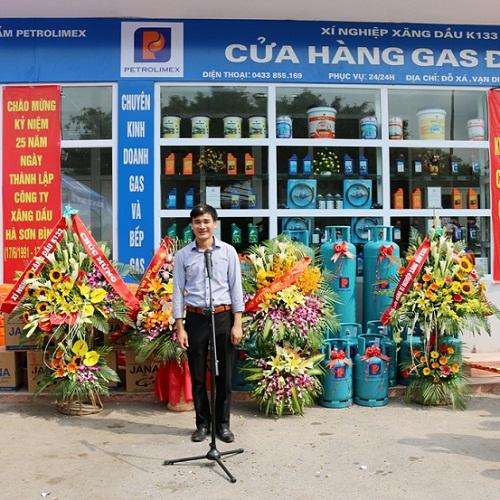 mở đại lý gas
