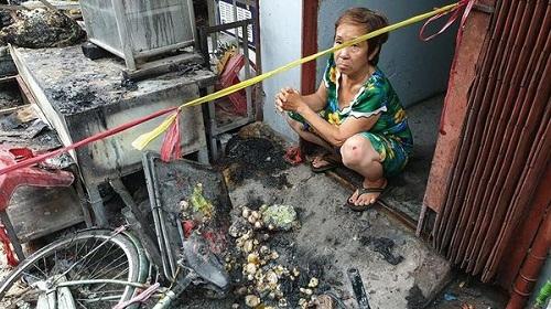 Người dân bàng hoàng trước vụ nổ bình gas mini