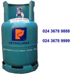 Bình gas Petrolimex 12kg van ngang