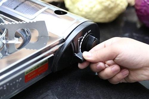 Sử dụng bếp gas mini