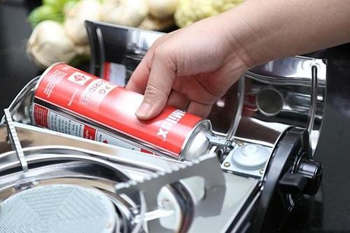 Sử dụng gas tiết kiệm