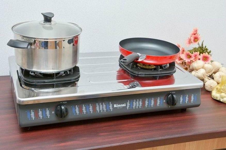 sử dụng nồi chảo phù hợp với bếp