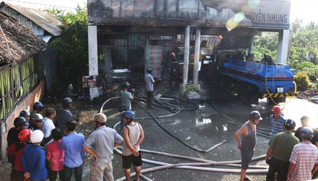 Toàn cảnh vụ cháy